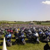 Now where did I leave the bike? Thruxton.