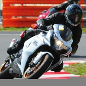 Tony having fun at Snetterton