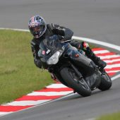 Triumph TT600 at Snetterton